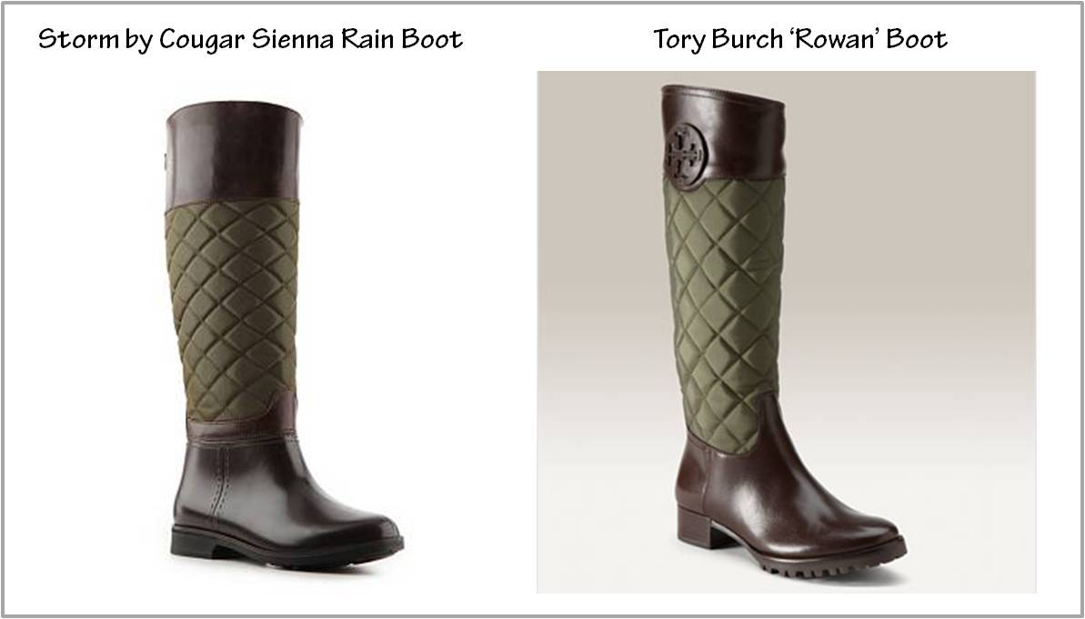 Pish Posh Perfect | A Style Savvy Life: The Look for Less: Tory ... : tory burch quilted boots - Adamdwight.com