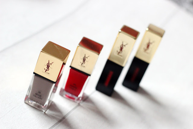 Yves Saint Laurent Lipstick, Lippenstift, Nagellack, Point Rouge, Haul, Bestellung, Erfahrung, Test, gold, Verpackung, Vernis a levers, lacquer, nail polish