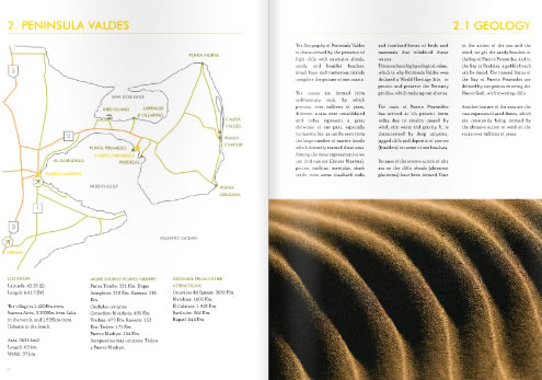 Maps of Peninsula Valdes - Guide of Peninsula Valdes