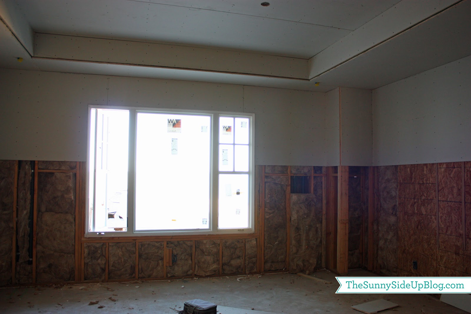 Insulation drywall siding and a question the sunny side up blog insulation drywall siding and a question solutioingenieria Image collections