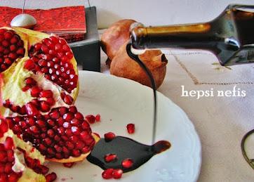 evde nar ekşisi yapımı tarifi