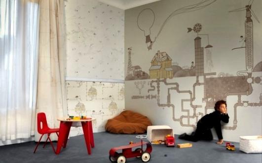 Papier Peint Garcon 8 Ans - Papier peint enfant 15 idées fun pour sa chambre