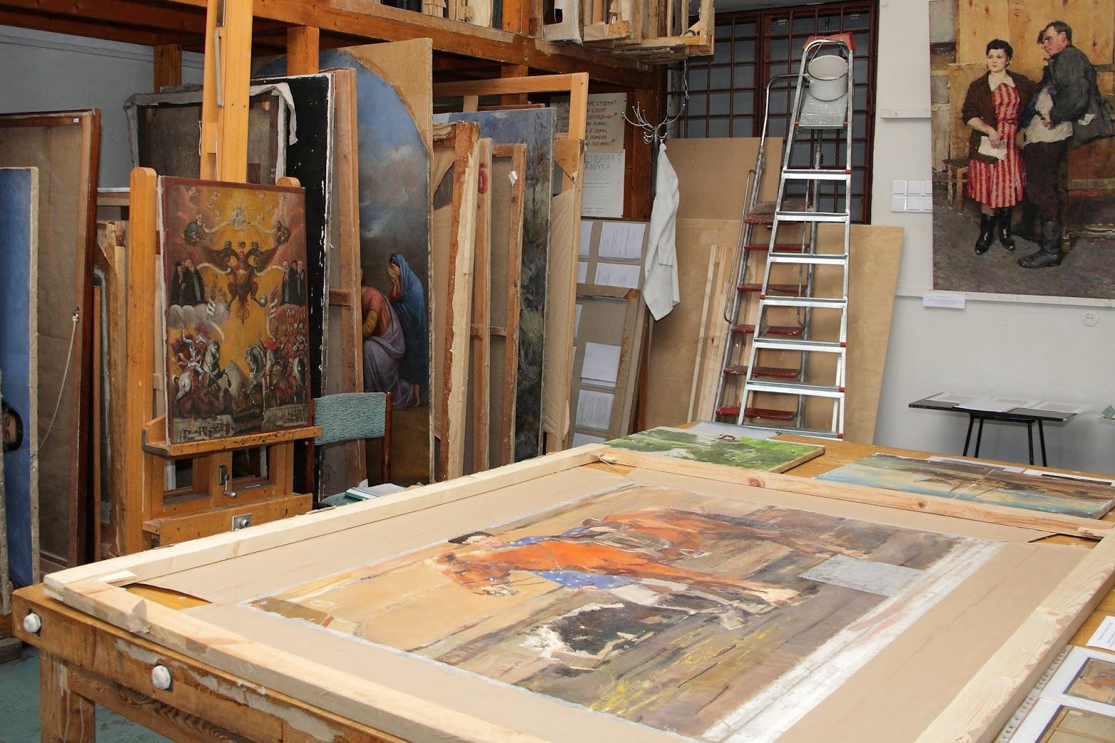 Реставрация картин икон своими руками 59