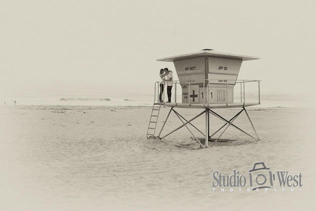 Studio101West.com Beach Engagement Portraits
