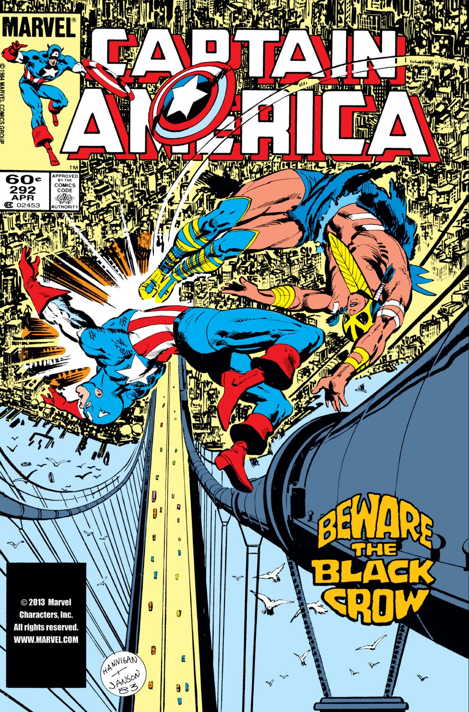 Captain America (1968) Issue #292 #208 - English 1