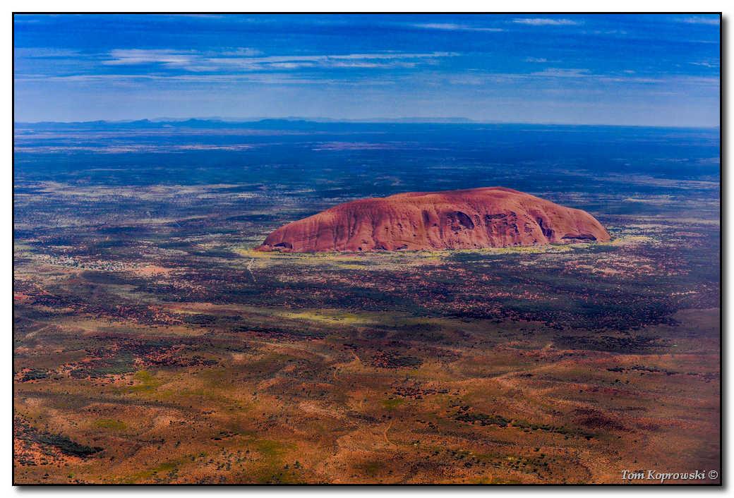 Tom Koprowski foto z Uluru - Ayers Rock