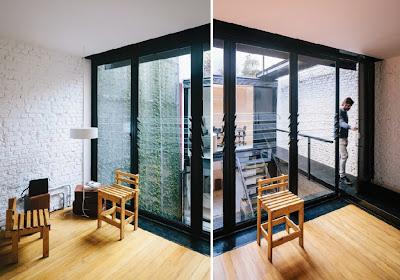 Vertical Garden Di Tengah Ruangan Kantor 5