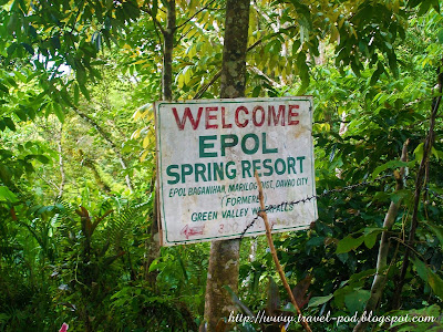 best places in the philippines Epol Spring Resort