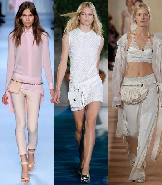 Bolsas para a cintura, belt-bags ou fanny pack tendencia outono-inverno 2015-2016