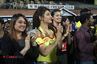 Tamil Actresses Pictures at CCL 3 Chennai Rhinos Vs Bengal Tigers Match Pictures  0001
