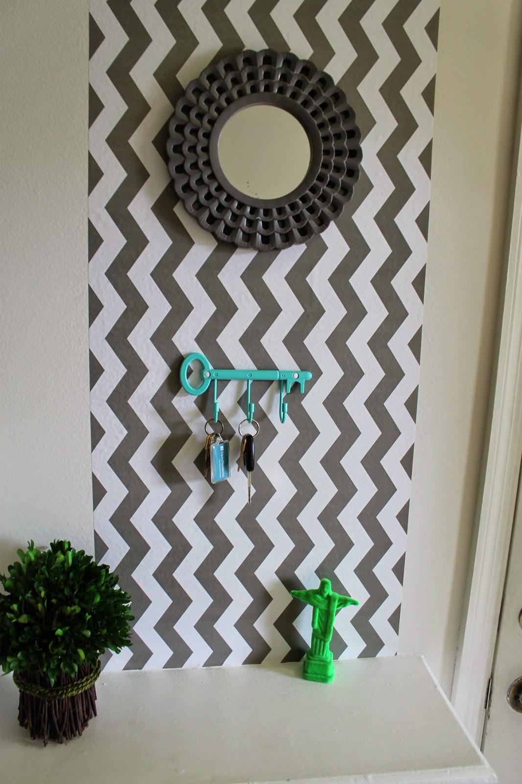 Casa montada uma forma f cil e econ mica de usar papel - Papel pared entrada ...
