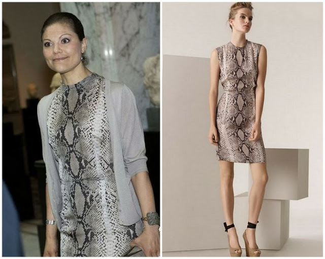 Crown Princess Victoria in Lanvin