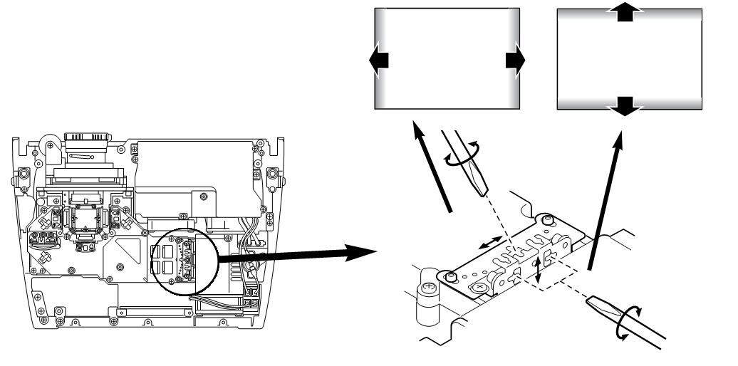 sanyo plv z1 - r-g-b contrast - integrator  u0026 relay adjustment