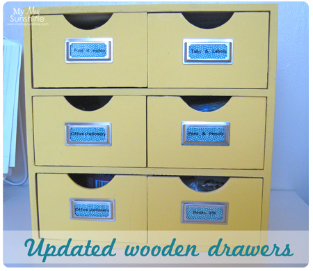 Updated Wooden Drawers