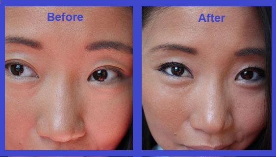 Asian Makeup Tips Blue Eye Shadow