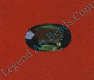 Green sapphire, 1.40 ct.
