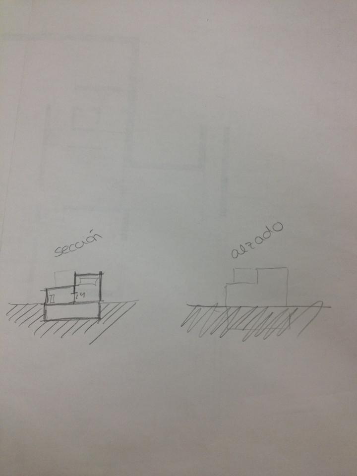 Secciones y alzados arquitectura la salle - Alzado arquitectura ...