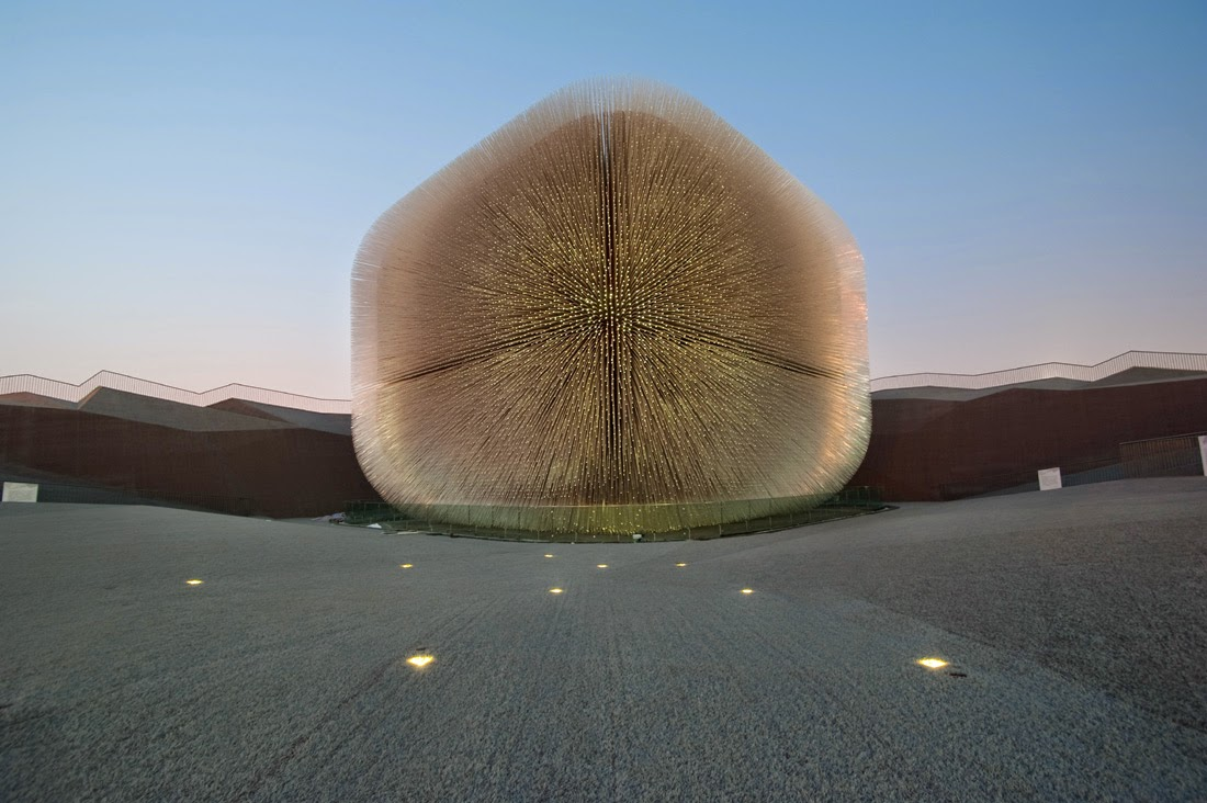 ARCFLY: UK Pavilion for Shanghai World Expo 2010 by Heatherwick Studio