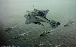 Το ιπτάμενο υποβρύχιο των Ρώσων …. Δείτε το σε εικονική πτήση να αναδύεται και να πετά με ταχύτητα 100 κόμβων στον αέρα…(ΒΙΝΤΕΟ and ΦΩΤΟ)