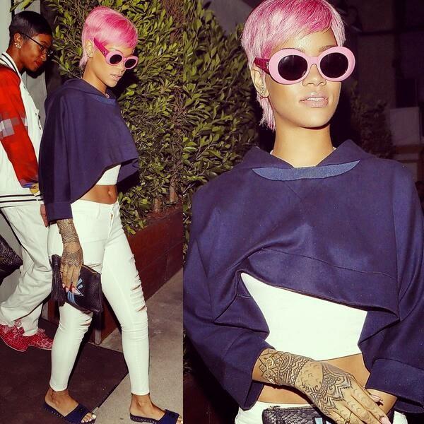 Rihanna, Charlie Sheen, Giorgio Baldi restaurant, Brett Rossi, Whorrified,
