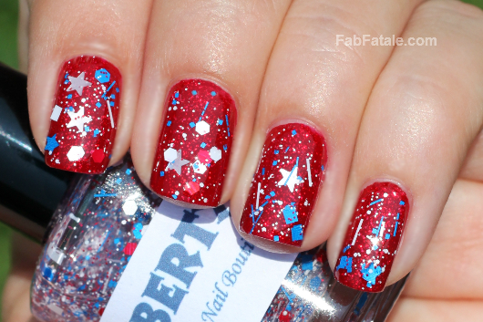 4th Of July Nail Ideas Easy 4th Of July Sparkle Nails
