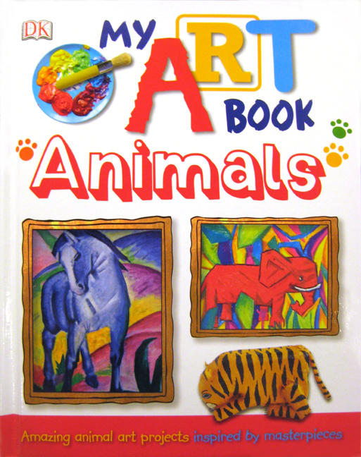 My Art Book Cover : My adventures in positive space art book animals giveaway