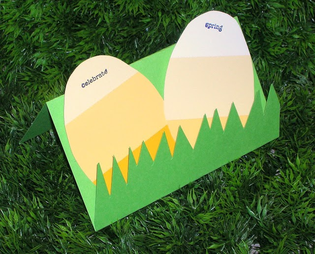 Paintchip Easter Egg Card