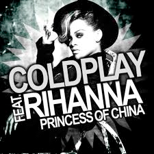 videoclip, coldplay and rihanna, princess of china