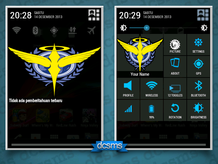 Update System UI for Cross A18