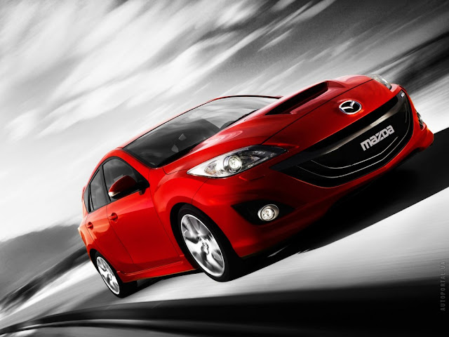 New spy photo of Mazda 3