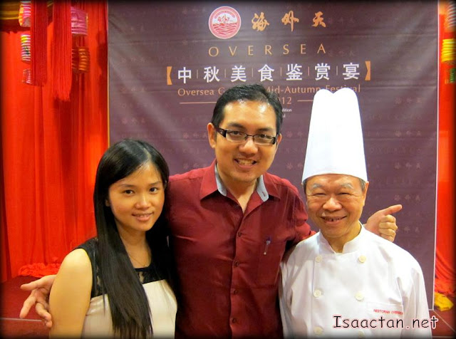 Janice and I with the founder, Mr Yu Soo Chye having a photo opportunity