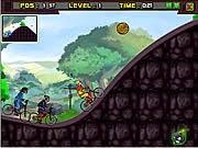 Game đua xe đạp mạo hiểm