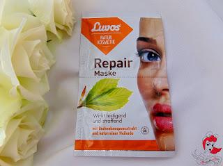 Luvos-Heilerde - Luvos Repair Maske mit Buchenknospenestrakt - www.annitschkasblog.de