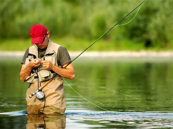 успешная ловля рыбы