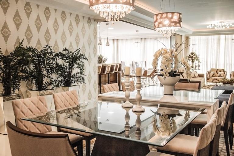 Vidro Na Sala De Jantar ~ Decoração + de 30 Mesas de Jantar Quadradas  e tudo que você