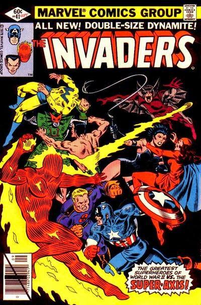 Portada Invaders 41