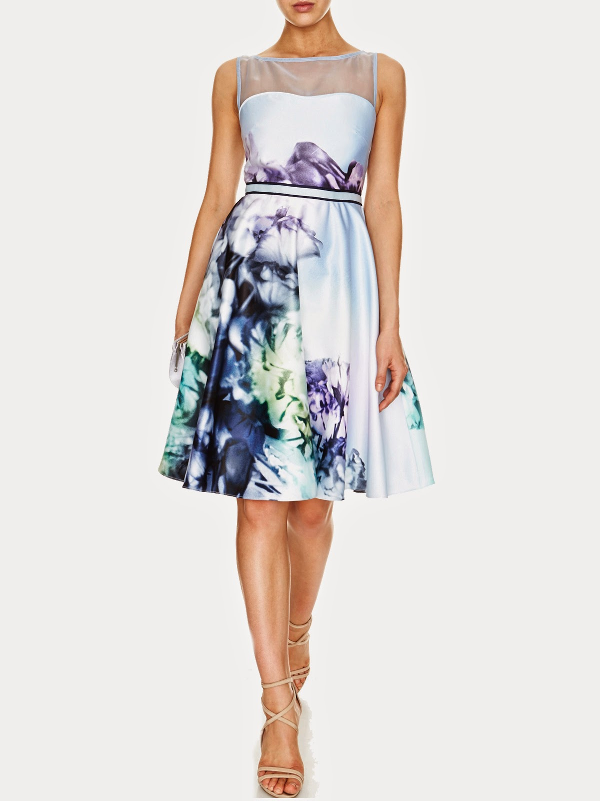 Avery Print Sateen Dress