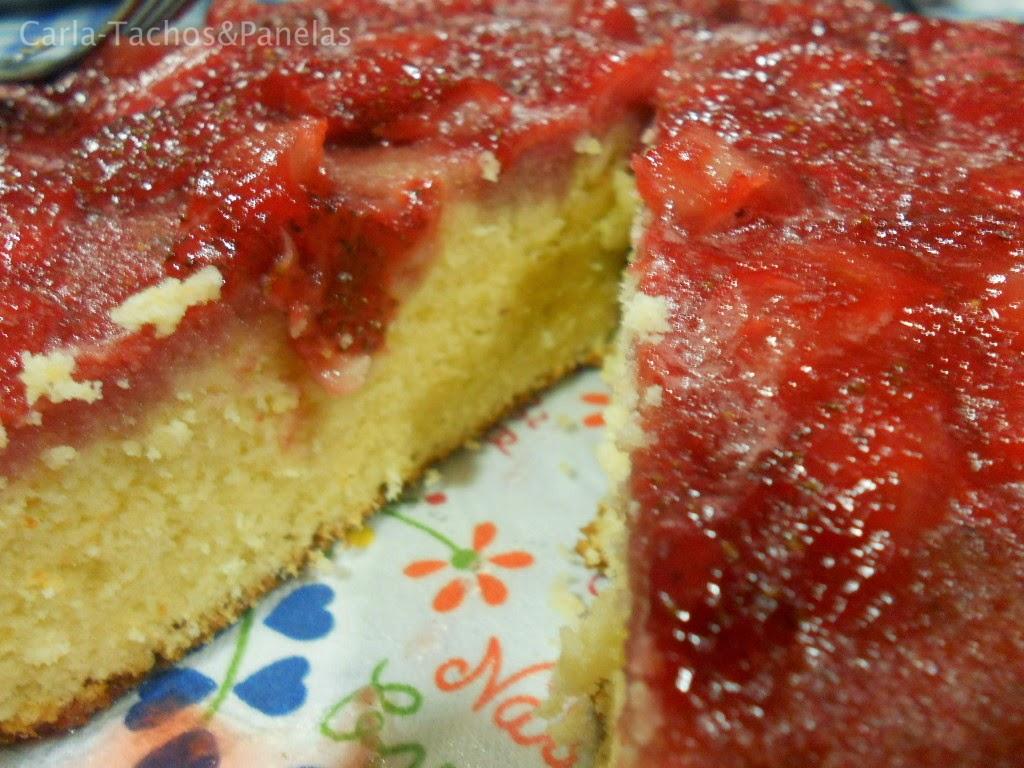 receita de bolo chiffon com doce de morangos