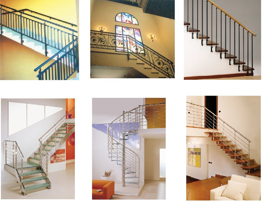 Cerrajeria ramajo diferentes tipos de barandas - Tipo de escaleras ...