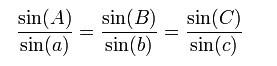rumus sinus untuk geometri sferik abu wafa