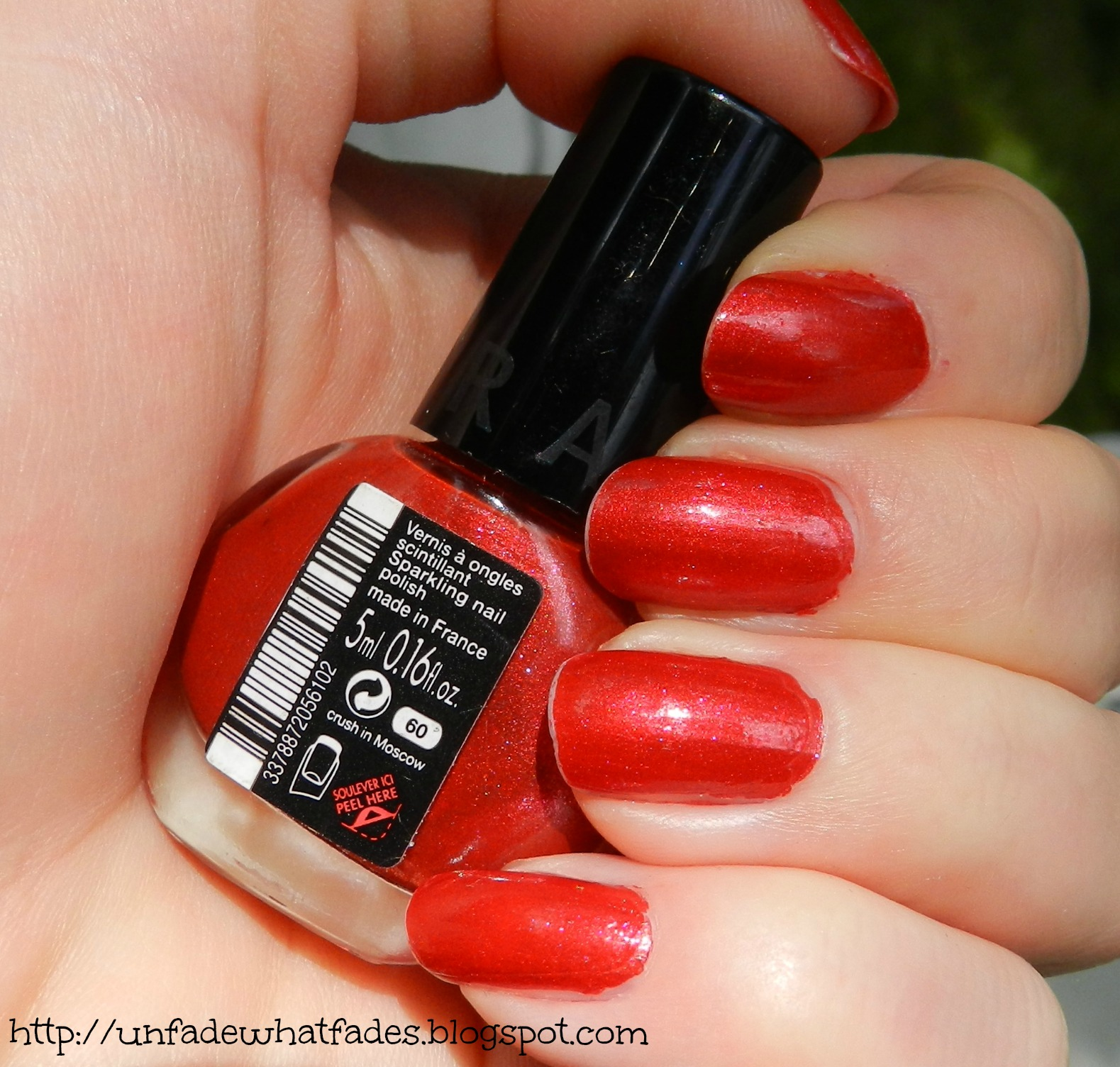 Nail Polish Sephora: Unfade What Fades: Sephora Nail Polish In Crush In Moscow