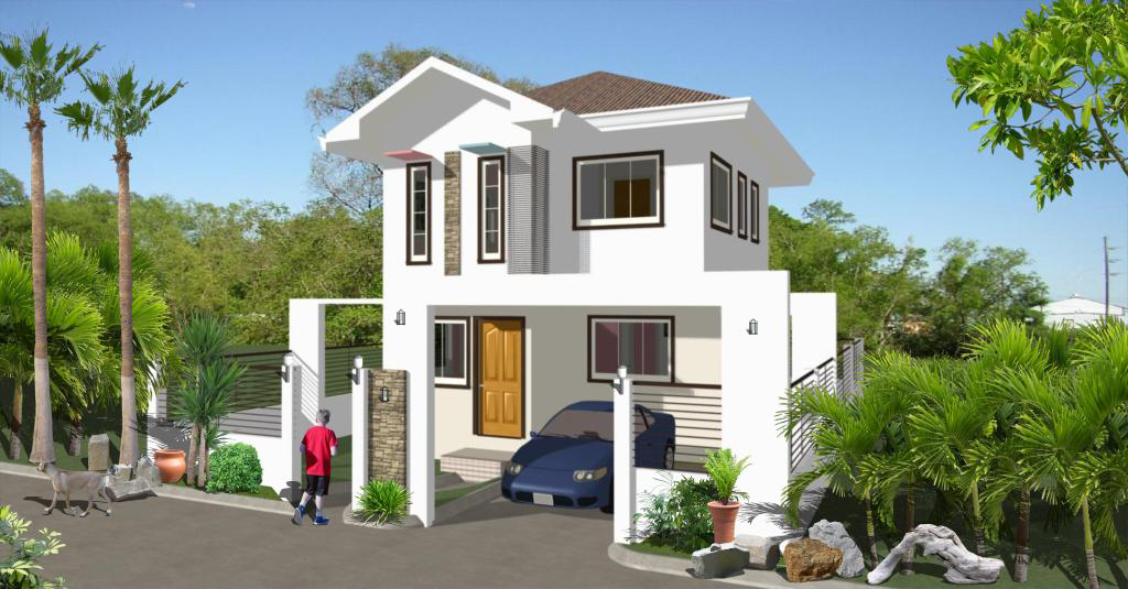 House designs in the philippines in iloilo by erecre group Real estate house plans