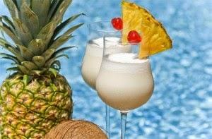 Aperitivos con Fruta, Coctel de Piña