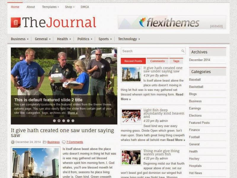 TheJournal - Free Wordpress Theme