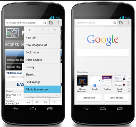 Aplikasi Browser Android Google Chrome
