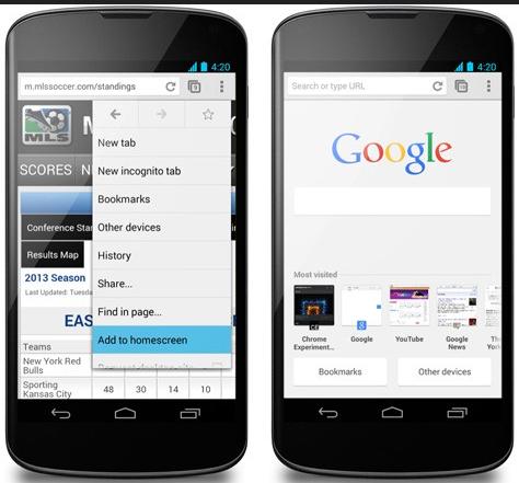 Aplikasi Browser Android Google Chrome