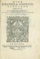 Breve Biografía de Isabella Andreini. Mujeres del siglo XVI. Mujeres de la historia. Mujeres que hacen la historia. Mujeres destacadas de la historia.