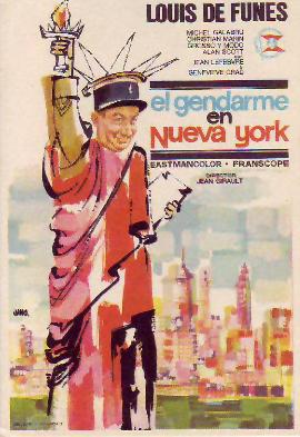 El gendarme en Nueva York, Le Gendarme à New York, Louis de Funès
