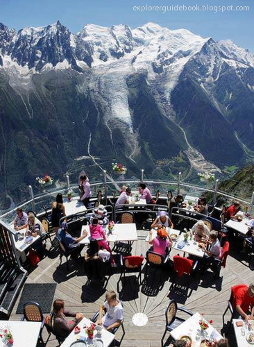 restauran di Chamonix Perancis