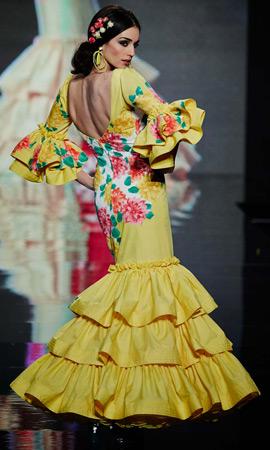 vestidos de flamenca Lina